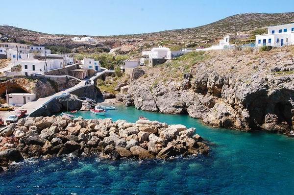 Widok na grecką wyspę