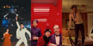 Trzy zrzuty ekranu z filmów