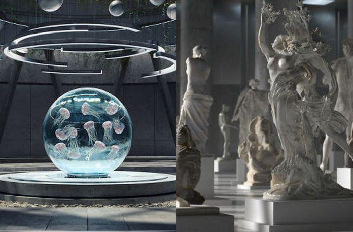 Futurystyczna wizja Arki Noego