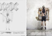 Dwie okładki ACDC