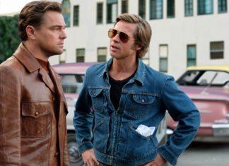 Mężczyzna w skórzanej kurtce i mężczyna w jeansowej kurtce