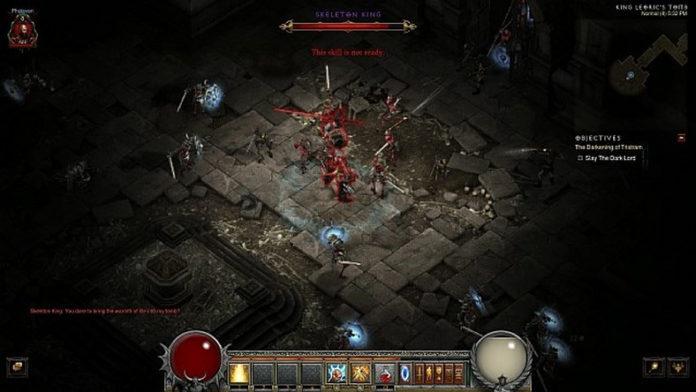 Zrzut ekranu z gry Diablo