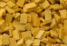 Żółte tabletki