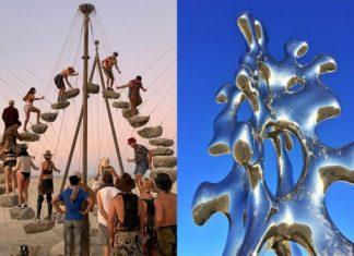 Dwie instalacje artystyczne