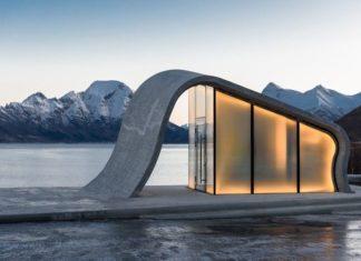 Futurystyczny budynek