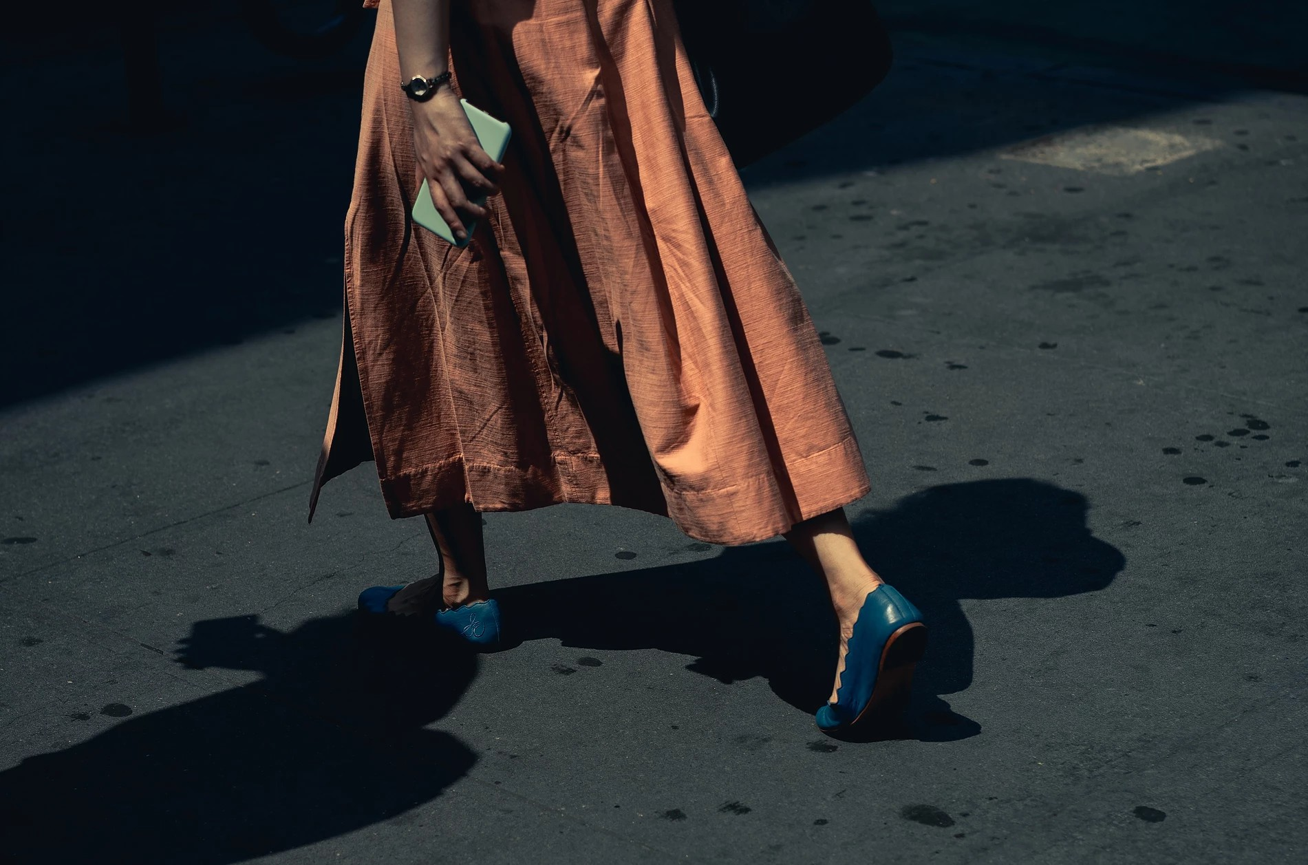 Nogi dziewczyny w butach