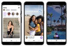 Zrzuty ekranu z aplikacji Facebook Dating