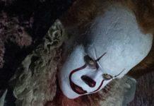 Przerażająca postać klauna