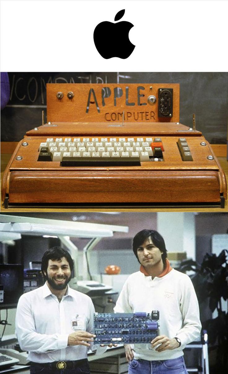 pierwszy komputer Apple Jobs i Woźniak