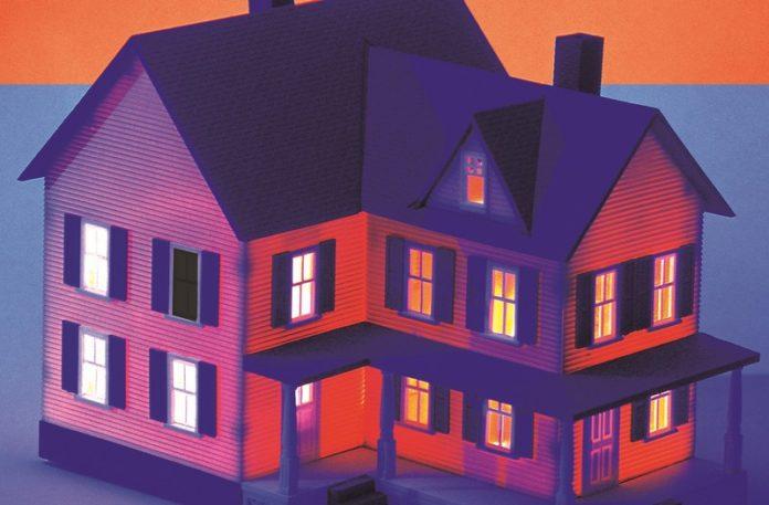 Ilustracja przedstawiająca dom