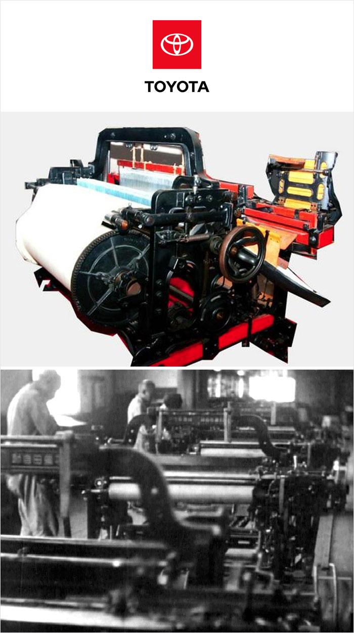 Toyota maszyna do tkania