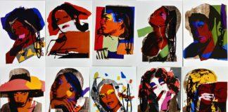 Seria portretów autorstwa Andy'ego warhola
