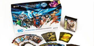 Opakowanie gry z superbohaterami