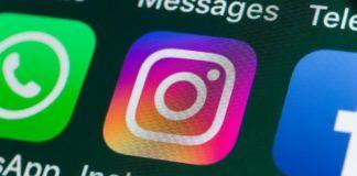 Ekran telefonu z otwartą aplikacją Instagram