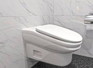 Nachylona toaleta