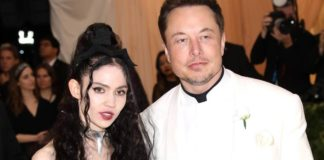 Rodzice X Æ A-12 Piosenkarka Grimes i biznesmen Elon Musk na gali