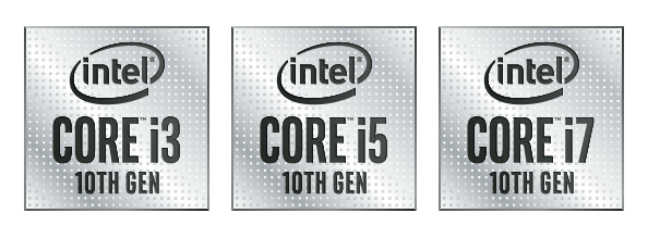 logo Intel i3 i5 i7