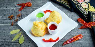 danie restauracji Everest kuchnia nepalska