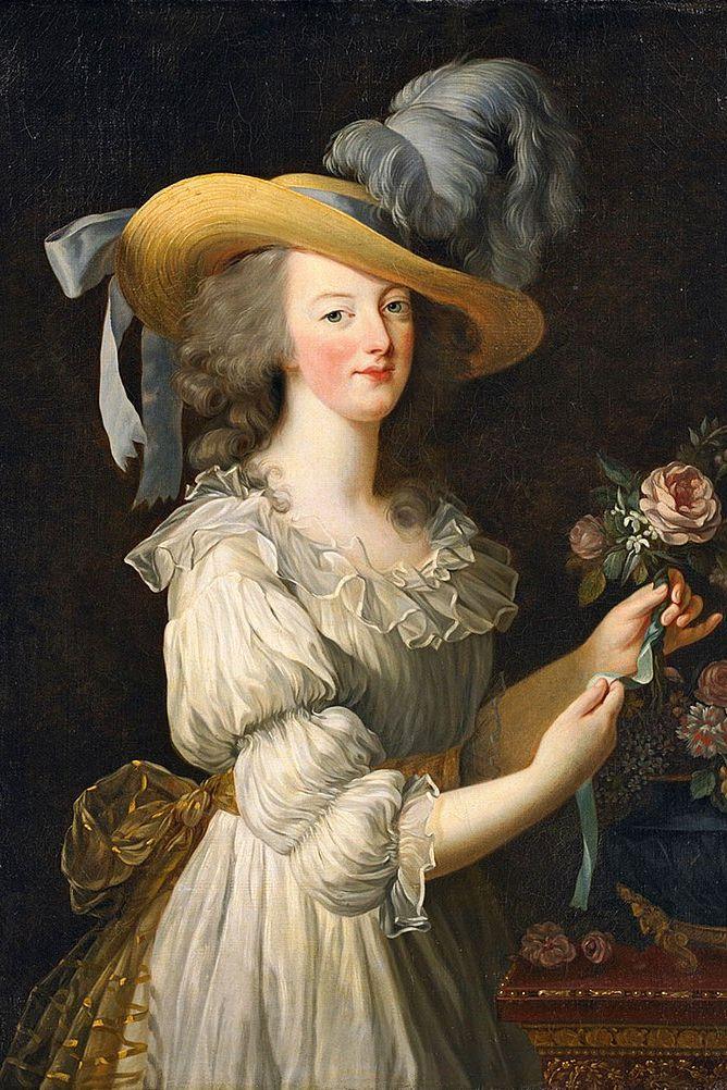 Obraz przedstawiajacy Marie Antonine w slip dress
