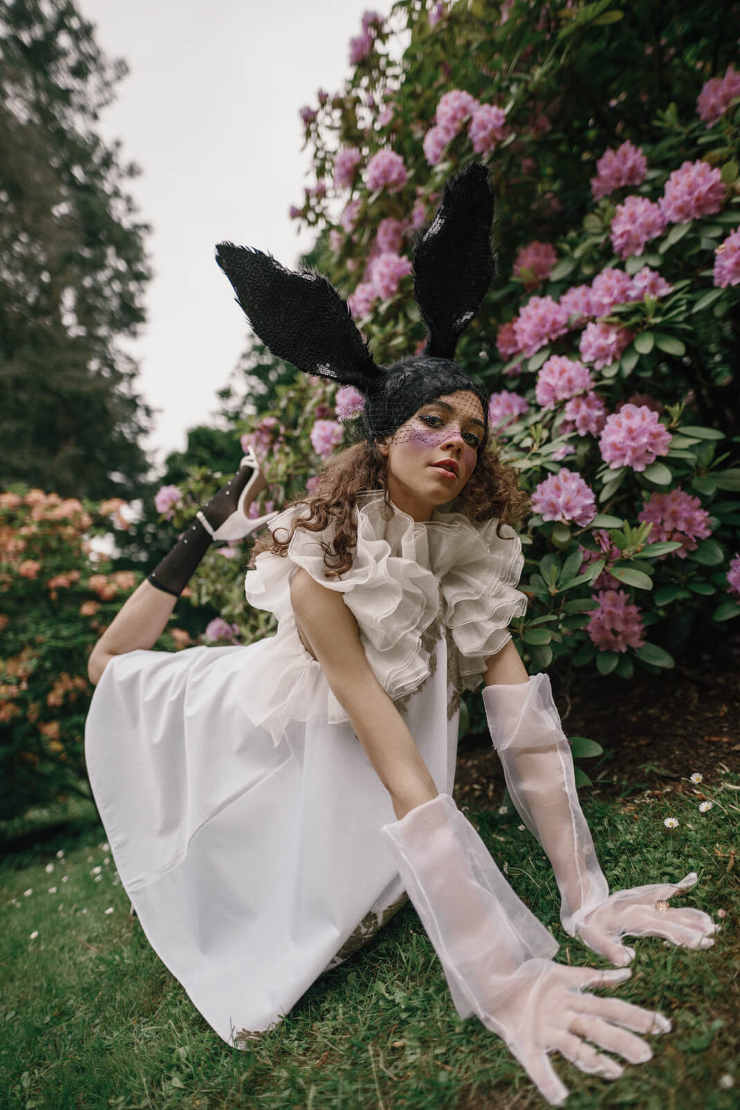 Klaudia in Wonderland modelka Alicja w krainie czarów