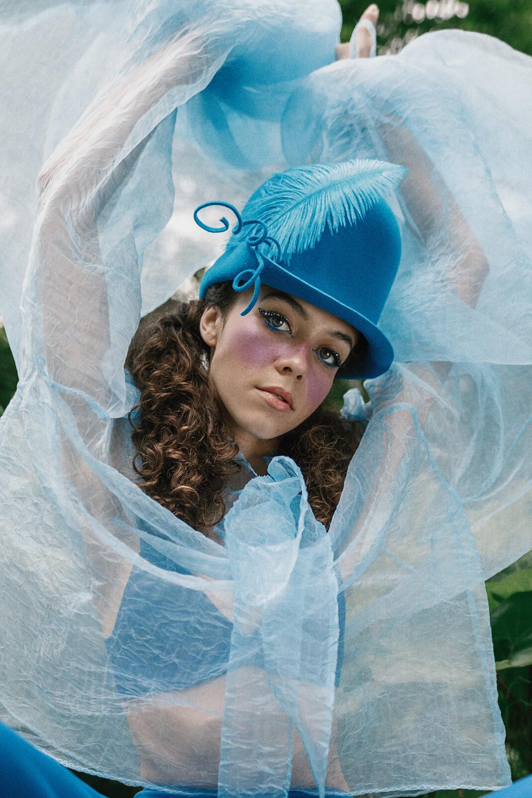 Klaudia in Wonderland modelka