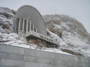 Muzeum na górze Sulayman