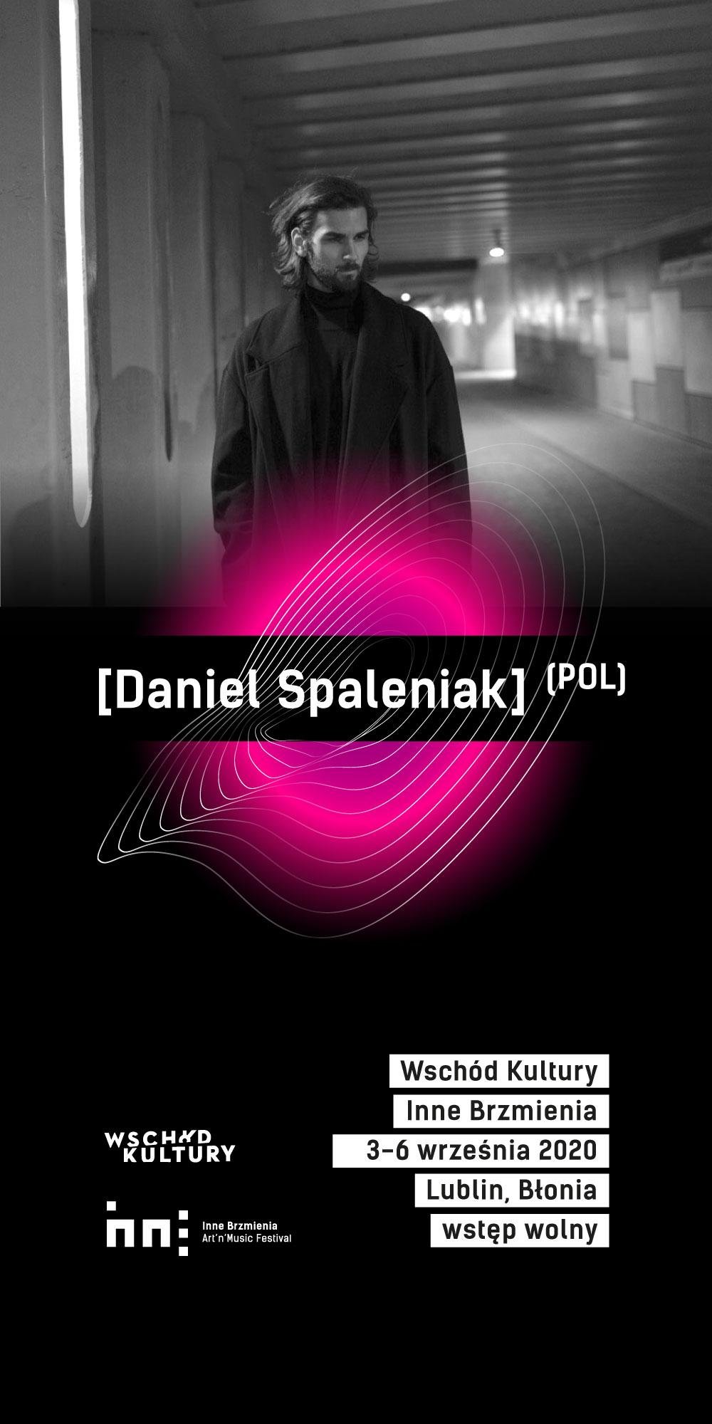 plakat Daniel Spaleniak