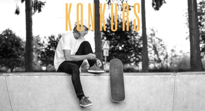 fish skateboards skater na skateparku