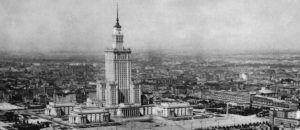 Stare zdjęcie Pałacu Kultury