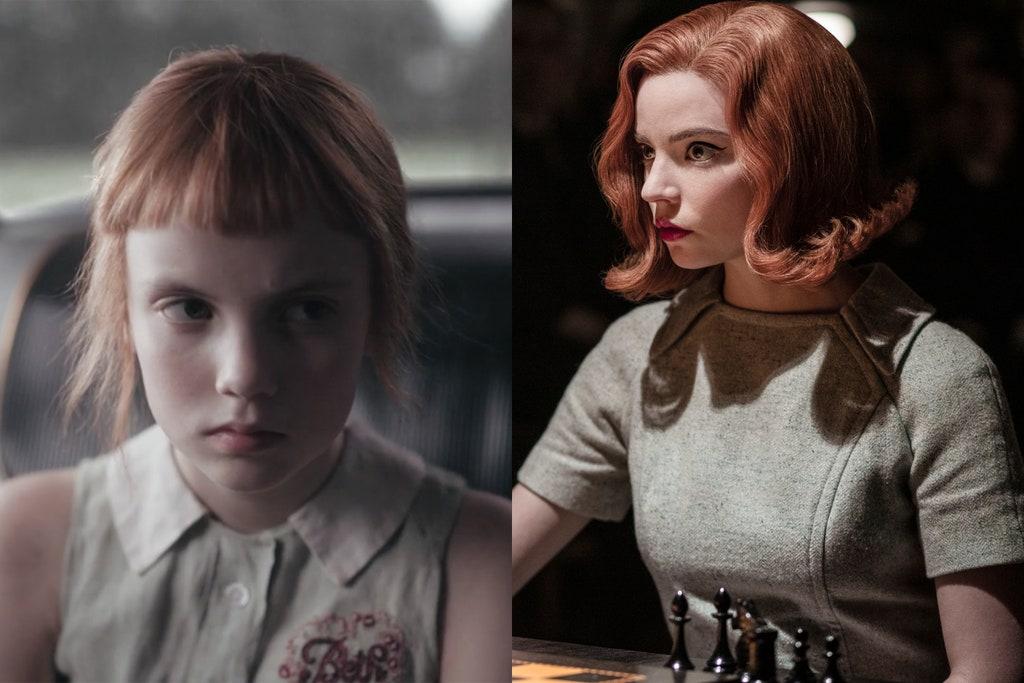 Połączenie dwóch zdjęć, na lewym jest portret malej dziewczynki, a na prawym portret młodej kobiety