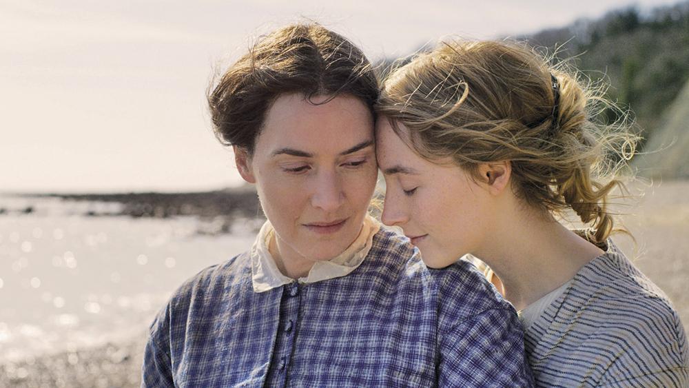 Dwie kobiety na plaży moda w filmie