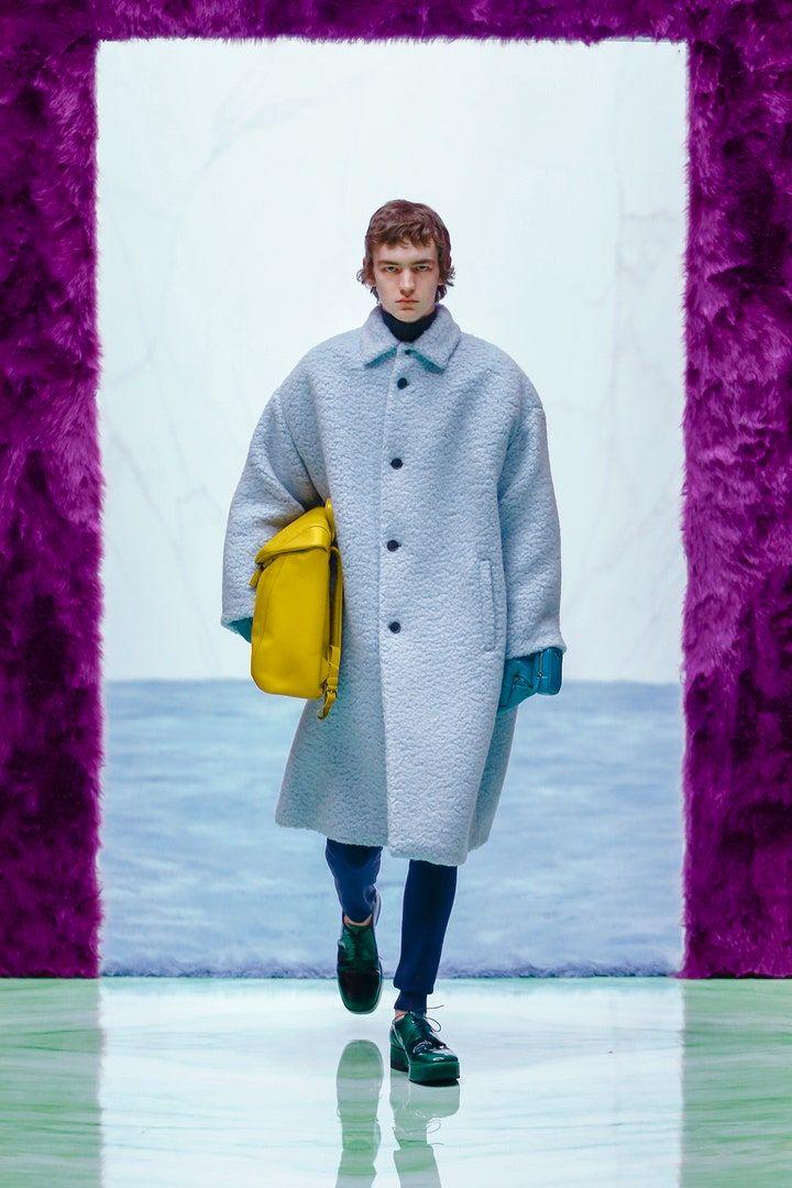 Pokaz mody męskiej Prada