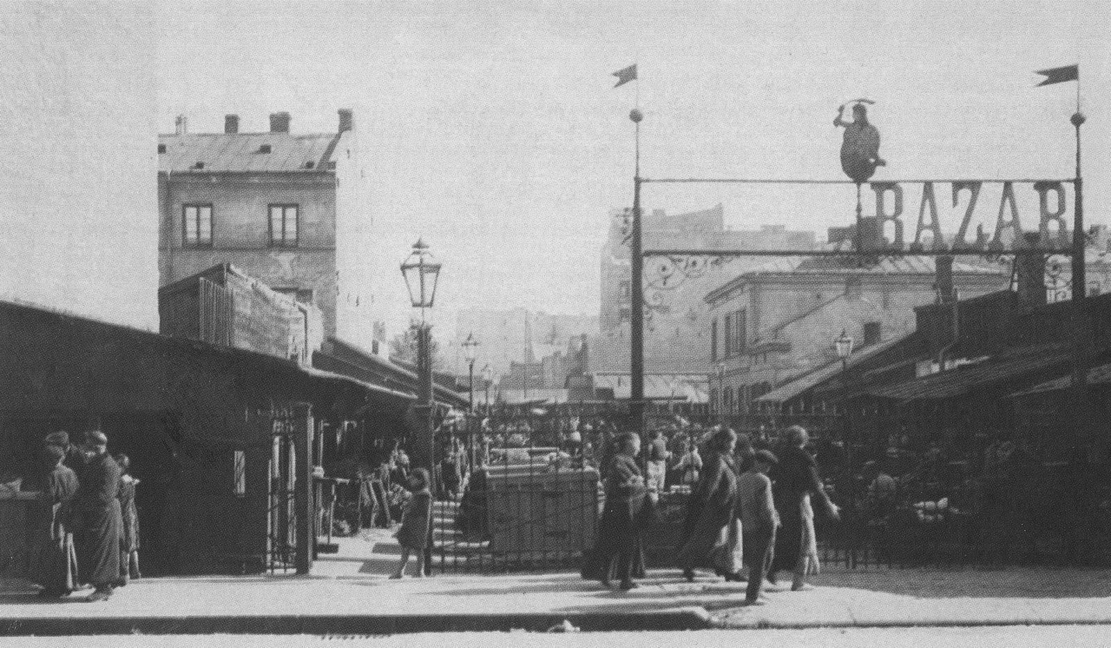 bazar różyckiego przed wojną