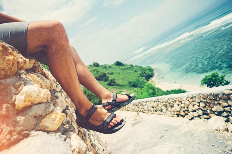 męskie sandały na lato