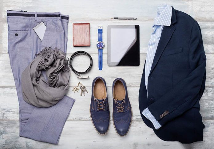 Eleganckie spodnie męskie