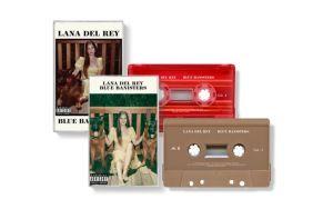 okładki kaset Blue Banisters