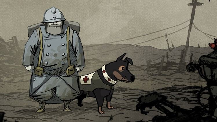 smutne gry - Valiant Hearts
