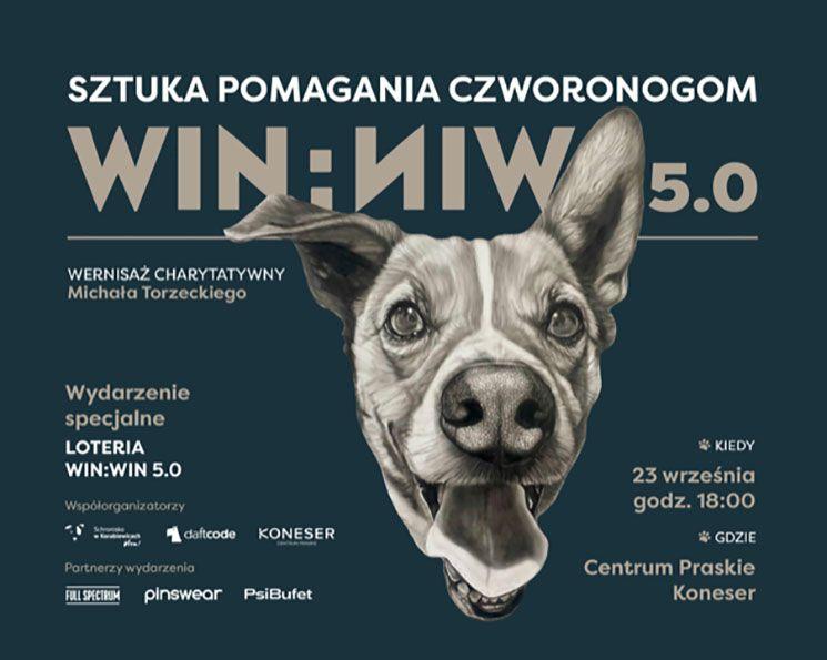 Michał Torzecki Win:Win 5 plakat Magazyn HIRO